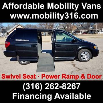 2005 Dodge Grand Caravan SXT for sale at Affordable Mobility Solutions - Mobility/Wheelchair Accessible Inventory-Wichita,KS in Wichita KS
