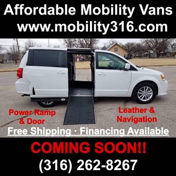 2019 Dodge Grand Caravan GT for sale at Affordable Mobility Solutions - Mobility/Wheelchair Accessible Inventory-Wichita,KS in Wichita KS