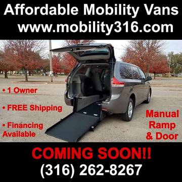 2018 Toyota Sienna LE Mobility 7-Passenger for sale at Affordable Mobility Solutions - Mobility/Wheelchair Accessible Inventory-Wichita,KS in Wichita KS