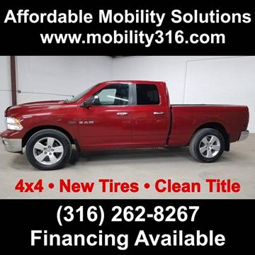 2010 Dodge Ram Pickup 1500 SLT for sale at Affordable Mobility Solutions - Standard Vehicles in Dallas TX
