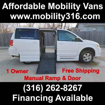 2012 Dodge Grand Caravan SE for sale at Affordable Mobility Solutions - Mobility/Wheelchair Accessible Inventory-Wichita,KS in Wichita KS