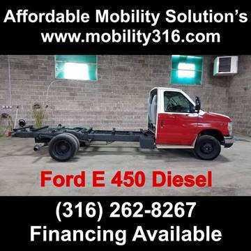 2010 Ford E-Series Chassis E-450 SD for sale at Affordable Mobility Solutions - Standard Vehicles in Dallas TX