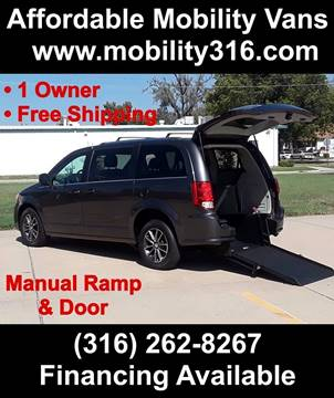 2015 Dodge Grand Caravan SE for sale at Affordable Mobility Solutions - Mobility/Wheelchair Accessible Inventory-Wichita,KS in Wichita KS