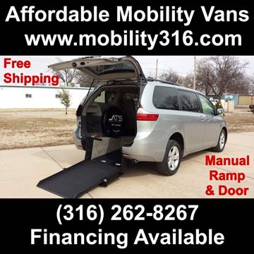 2015 Toyota Sienna LE Mobility 7-Passenger for sale at Affordable Mobility Solutions - Mobility/Wheelchair Accessible Inventory-Wichita,KS in Wichita KS
