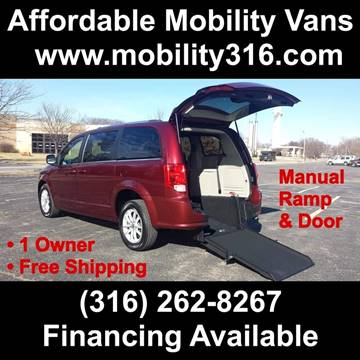 2018 Dodge Grand Caravan SXT for sale at Affordable Mobility Solutions - Mobility/Wheelchair Accessible Inventory-Wichita,KS in Wichita KS