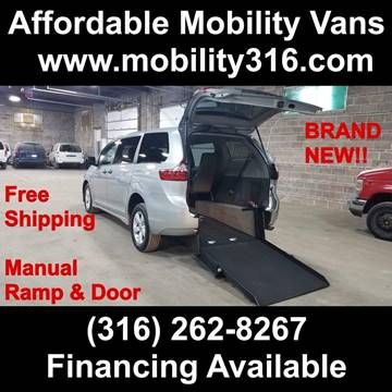 2020 Toyota Sienna L 7-Passenger for sale at Affordable Mobility Solutions - Mobility/Wheelchair Accessible Inventory-Wichita,KS in Wichita KS
