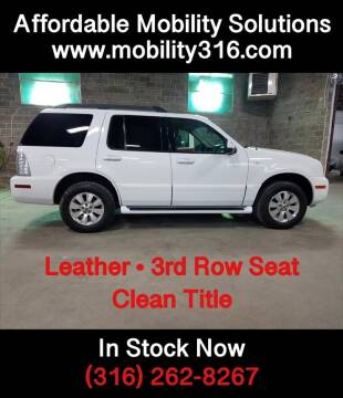 2006 Mercury Mountaineer Luxury for sale at Affordable Mobility Solutions - Standard Vehicles in Dallas TX