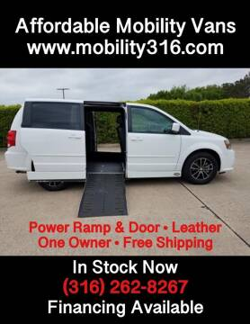 2017 Dodge Grand Caravan SXT for sale at Affordable Mobility Solutions - Mobility/Wheelchair Accessible Inventory-Wichita,KS in Wichita KS