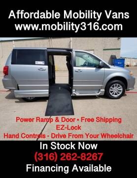 2015 Dodge Grand Caravan SXT for sale at Affordable Mobility Solutions - Mobility/Wheelchair Accessible Inventory-Wichita,KS in Wichita KS