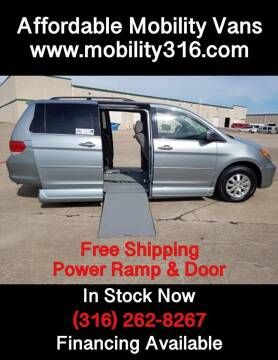 2008 Honda Odyssey EX for sale at Affordable Mobility Solutions - Mobility/Wheelchair Accessible Inventory-Wichita,KS in Wichita KS