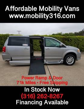 2013 Dodge Grand Caravan SXT for sale at Affordable Mobility Solutions - Mobility/Wheelchair Accessible Inventory-Wichita,KS in Wichita KS