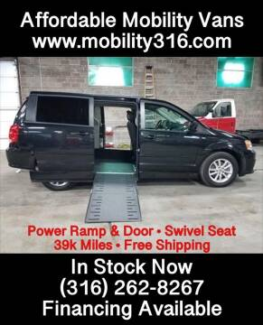 2014 Dodge Grand Caravan SXT for sale at Affordable Mobility Solutions - Mobility/Wheelchair Accessible Inventory-Wichita in Wichita KS