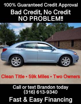 2013 Chrysler 200 Touring for sale at Affordable Mobility Solutions - Standard Vehicles in Wichita KS