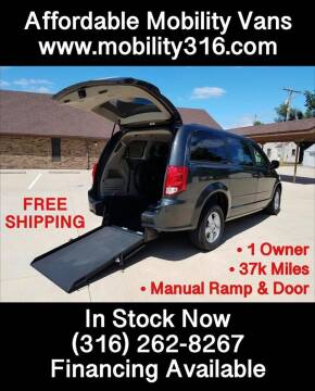 2012 Dodge Grand Caravan SXT for sale at Affordable Mobility Solutions - Mobility/Wheelchair Accessible Inventory-Wichita in Wichita KS