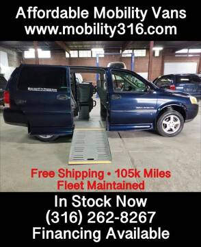 2007 Chevrolet Uplander Cargo for sale at Affordable Mobility Solutions - Mobility/Wheelchair Accessible Inventory-Wichita in Wichita KS