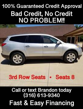 2010 Chevrolet Traverse LT for sale at Affordable Mobility Solutions - Standard Vehicles in Wichita KS