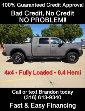 2014 RAM Ram Pickup 2500 Laramie Longhorn for sale at Affordable Mobility Solutions - Standard Vehicles in Wichita KS