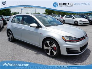 2017 Volkswagen Golf GTI for sale in Lithia Springs, GA