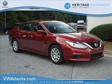 2016 Nissan Altima for sale in Lithia Springs, GA