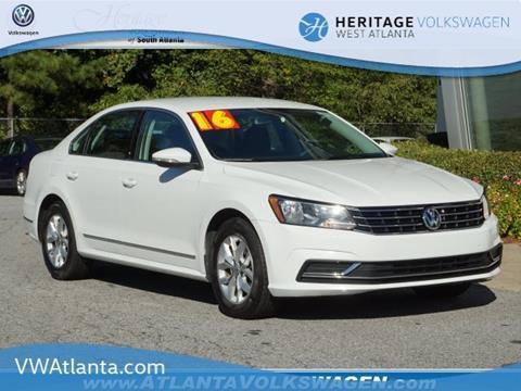 2016 Volkswagen Passat for sale in Lithia Springs, GA