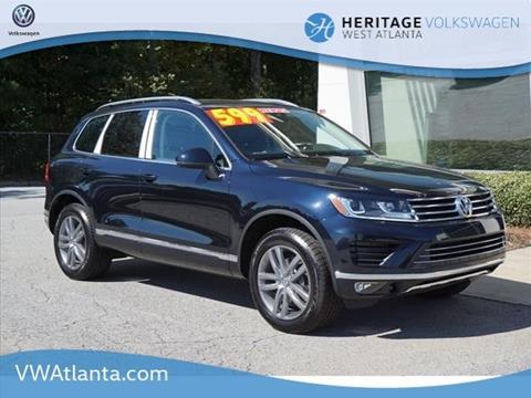 2016 Volkswagen Touareg for sale in Lithia Springs, GA