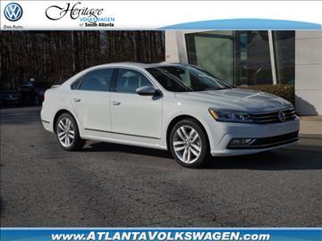 2017 Volkswagen Passat for sale in Lithia Springs, GA