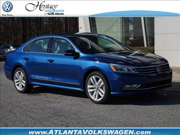 2017 Volkswagen Passat for sale in Lithia Springs, GA