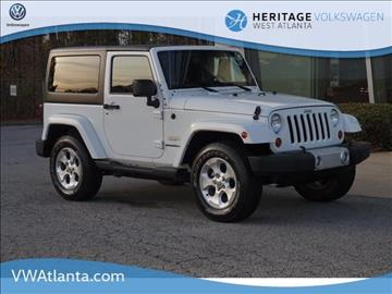 2013 Jeep Wrangler for sale in Lithia Springs, GA
