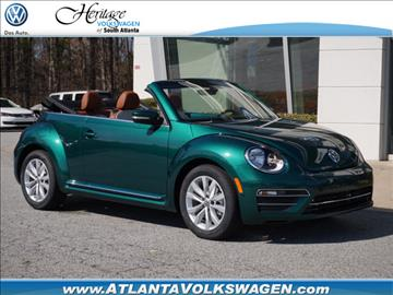 2017 Volkswagen Beetle for sale in Lithia Springs, GA