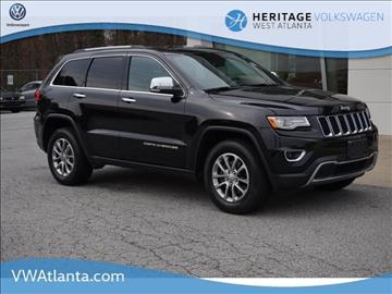 2015 Jeep Grand Cherokee for sale in Lithia Springs, GA