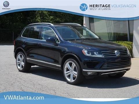 2017 Volkswagen Touareg for sale in Lithia Springs, GA