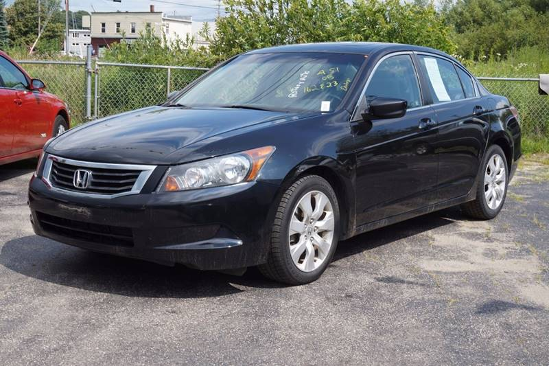 2008 Honda Accord EX-L 4dr Sedan 5A - Lewiston ME