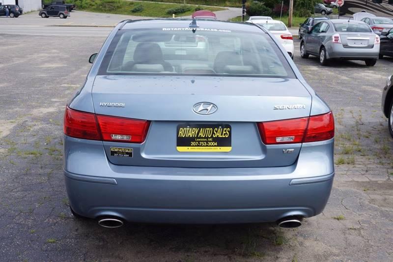 2009 Hyundai Sonata GLS V6 4dr Sedan - Lewiston ME