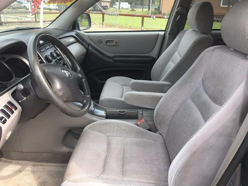 2003 Toyota Highlander Fwd 4dr SUV - Baton Rouge LA