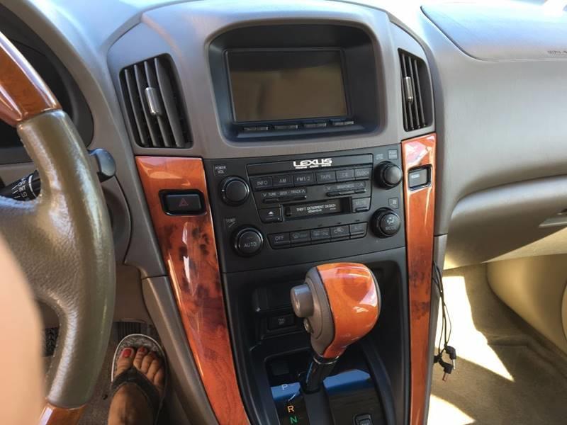 2003 Lexus RX 300 Fwd 4dr SUV - Baton Rouge LA
