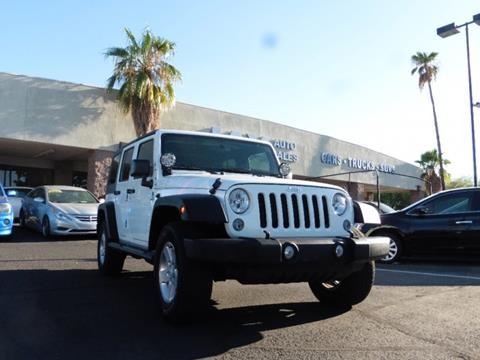 2014 Jeep Wrangler Unlimited for sale in Tucson, AZ