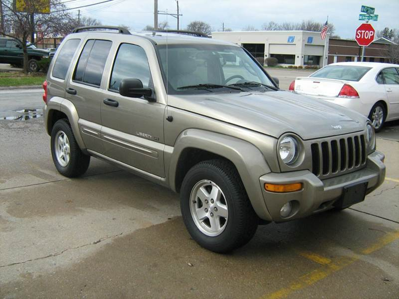2003 Jeep Liberty Limited 4WD 4dr SUV   Moline IL
