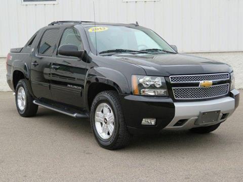 2013 Chevrolet Black Diamond Avalanche for sale in Muskegon MI