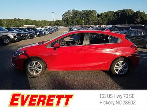 2017 Chevrolet Cruze for sale in Hickory, NC