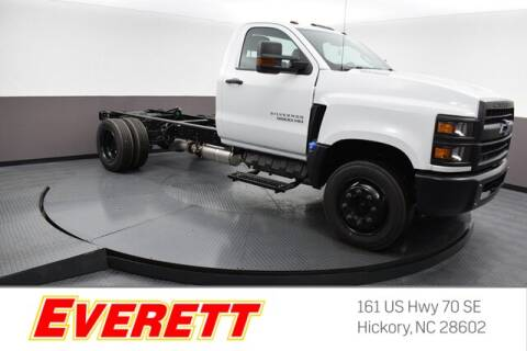 2019 Chevrolet Silverado 5500HD for sale at Everett Chevrolet Buick GMC in Hickory NC