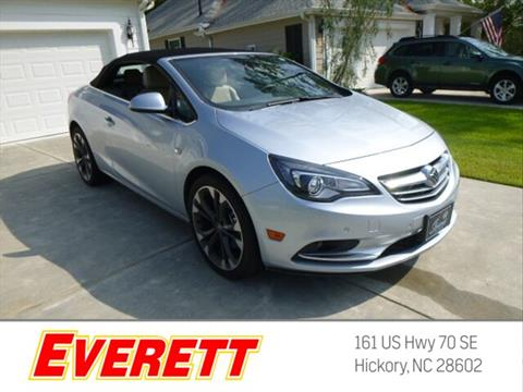 2016 Buick Cascada for sale in Hickory, NC