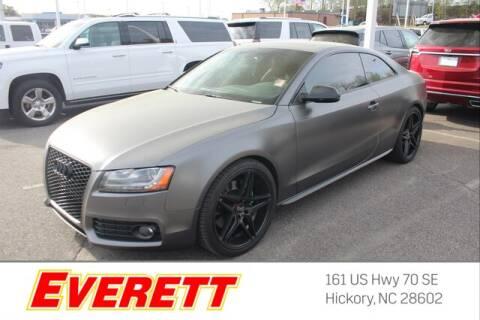 2012 Audi S5 4.2 quattro Premium Plus for sale at Everett Chevrolet Buick GMC in Hickory NC