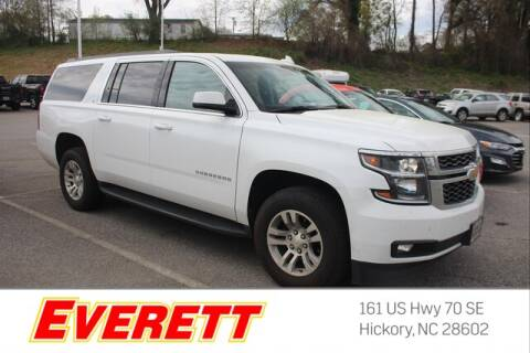2019 Chevrolet Suburban LT 1500 for sale at Everett Chevrolet Buick GMC in Hickory NC