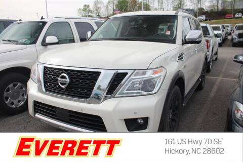 2017 Nissan Armada for sale at Everett Chevrolet Buick GMC in Hickory NC