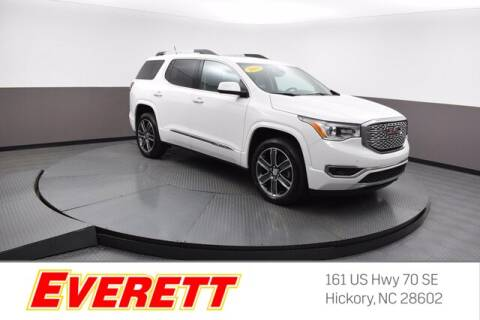 2019 GMC Acadia for sale at Everett Chevrolet Buick GMC in Hickory NC
