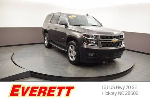 2018 Chevrolet Tahoe for sale at Everett Chevrolet Buick GMC in Hickory NC