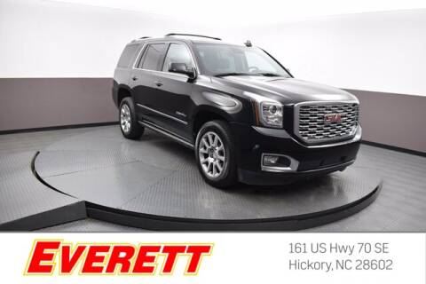 2020 GMC Yukon for sale at Everett Chevrolet Buick GMC in Hickory NC