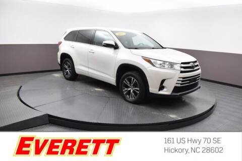 2017 Toyota Highlander for sale at Everett Chevrolet Buick GMC in Hickory NC
