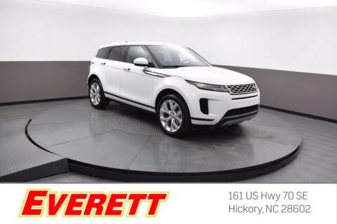 2020 Land Rover Range Rover Evoque for sale at Everett Chevrolet Buick GMC in Hickory NC