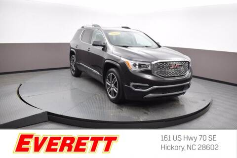 2018 GMC Acadia for sale at Everett Chevrolet Buick GMC in Hickory NC